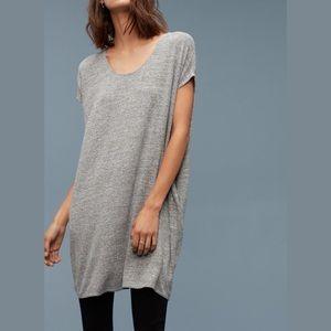 Wildred Free Gray Lorelei Jersey T-Shirt Dress XS